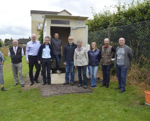 The Grand Opening of our Eco-toilet
