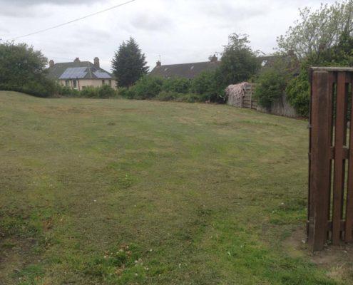 The EATSRosyth Community Garden before work began...