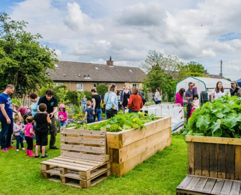 The EATS Rosyth Community Garden